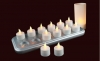Rechargeable Tea Light with OCP(Set of 12)