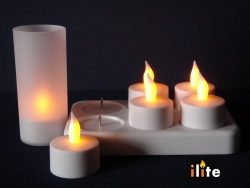 Rechargeable Tea Light(Set of 6)