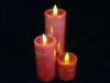 Real Wax Pillar Candle Light