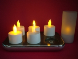 Rechargeable Tea Light with OCP(Set of 6)